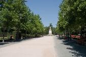 Taconera park, pamplona, İspanya — Stok fotoğraf