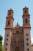Santa Prisca parish in Taxco de Alarcon (Mexico) — Foto Stock