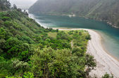 Tina Mayor estuary, between Asturias and Cantabria (Spain) — Stock Photo