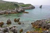 Stranden i buelna, asturien, spanien — Stockfoto