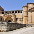 Stock Photo: Collegiate church in Santillandel Mar, Cantabri(Spain)