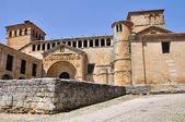 Collegiate church in Santillana del Mar, Cantabria (Spain) — Stock Photo
