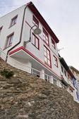 Typical architecture in Cudillero, Asturias (Spain) — Stock Photo