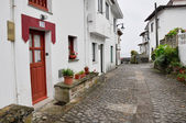 Typical architecture in Tazones, Asturias Spain — Stock Photo