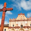 Cathedral of SCristobal de las Casas, Chiapas (Mexico) — Stock Photo #11902488