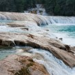 Agua Azul waterfalls, Chiapas, Mexico - Stock Photo