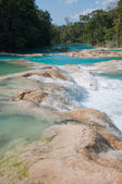 Agua Azul waterfalls, Chiapas, Mexico — Stock Photo