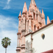 San Rafael Church, San Miguel De Allende (Mexico) - Stock Photo