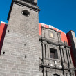 Santo Domingo church, Puebla (Mexico) - Stock Photo