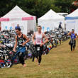 Stock Photo: Long Distance Triathlon World Championships, July 29, 2012