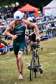 Long Distance Triathlon World Championships, July 2012 in Vitoria, Spain — Stock Photo