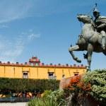 Civica square, San Miguel de Allende, Mexico — Stock Photo