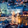 Guanajuato at night, Mexico — Stock fotografie