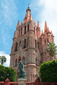 San Miguel Arcangel Church, San Miguel De Allende, Mexico — Stock Photo