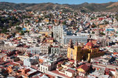 Guanajuato from El Pipila monument, Mexico — Stock Photo