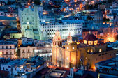 Guanajuato at night, Mexico — Stock Photo