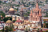 San Miguel Arcangel Church, San Miguel De Allende Mexico — Stock Photo