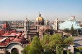 Our Lady of Guadalupe in Mexico city — Stock Photo