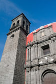 Church of Santo Domingo, Puebla Mexico — Stok fotoğraf