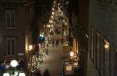 Ulica starego miasta quebec — Zdjęcie stockowe