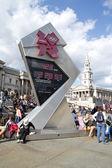 2012 Olympic Countdown Clock — Stock Photo