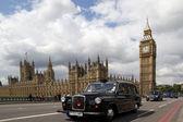 London Black Cabs — Stock Photo