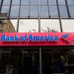 美国银行 — 图库照片