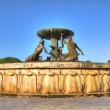 Stock Photo: Triton Fountain