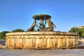 Triton Fountain — Stock Photo