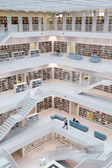 Stuttgart Ciy Library — Stock Photo