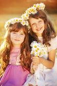 Kleine meisjes — Stockfoto