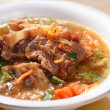 Stock Photo: Oxtail soup