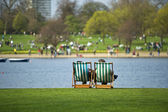 Hyde Park — Stock Photo
