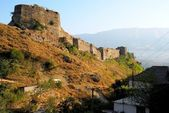 Gjirokastra castle, Albania — Stock Photo