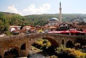 Old Stone Bridge in Prizren, Kosovo — Stock Photo