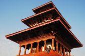 The Maju Deval temple in Durbar Square in Kathmandu, Nepal — Stock Photo