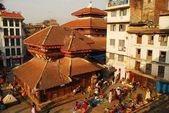 Durbar Square in Kathmandu, Nepal — Stock Photo