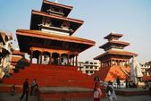 The temples in Durbar Square in Kathmandu, Nepal — Stock Photo