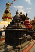 Swaymabhunath Temple (Monkey Temple) in Kathmandu, Nepal — Stock Photo