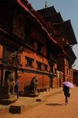 The building of Lumjyal Chowk in Patan, Nepal — Stock Photo