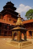 The courtyard Mul Chowk in Patan, Nepal — Stock Photo