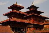 Temples in Durbar Square in Patan, Nepal — Stock Photo