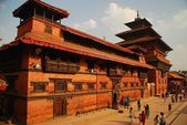 Lumjyal Chowk in Durbar Square, Patan — Stock Photo