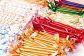 Sweets in beautiful wrappers — Stock Photo