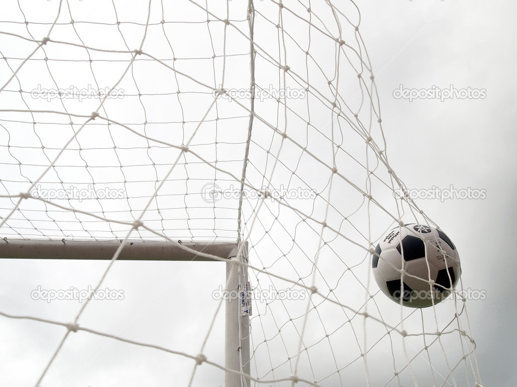 Soccer Goal — Stock Photo #11533202