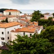 Stock Photo: Panoramic View on Old Town of Porec in Croatia