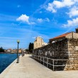 Stock Photo: Embankment in Porec, Croatia