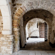Euphrasian Church Atrium in Porec, Croatia — Foto Stock