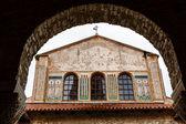 Murals of the Euphrasian Church in Porec, Croatia — Stock Photo