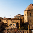 Dome and Houses in the Small Town of Volterra in Tuscany, Italy — Stock Photo #11029370